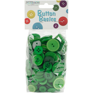 Buttons Galore Button Basics Assorted Buttons 5.5oz - MORE COLOR OPTIONS