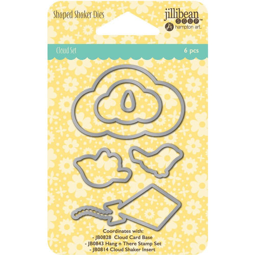jillibean Soup Die Cuts - Cloud Set