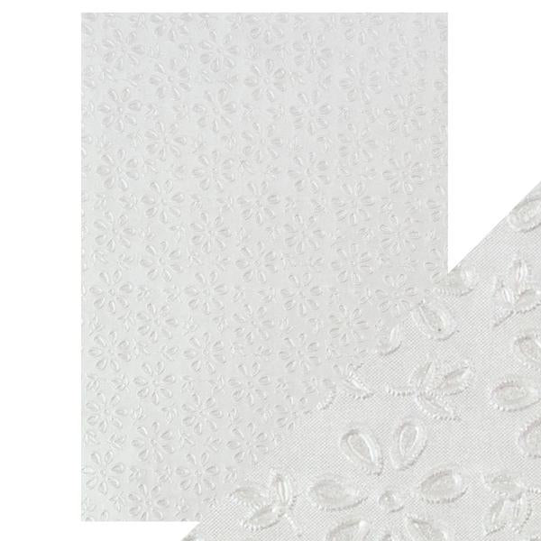 Hand Crafted Cotton Papers/English Lace