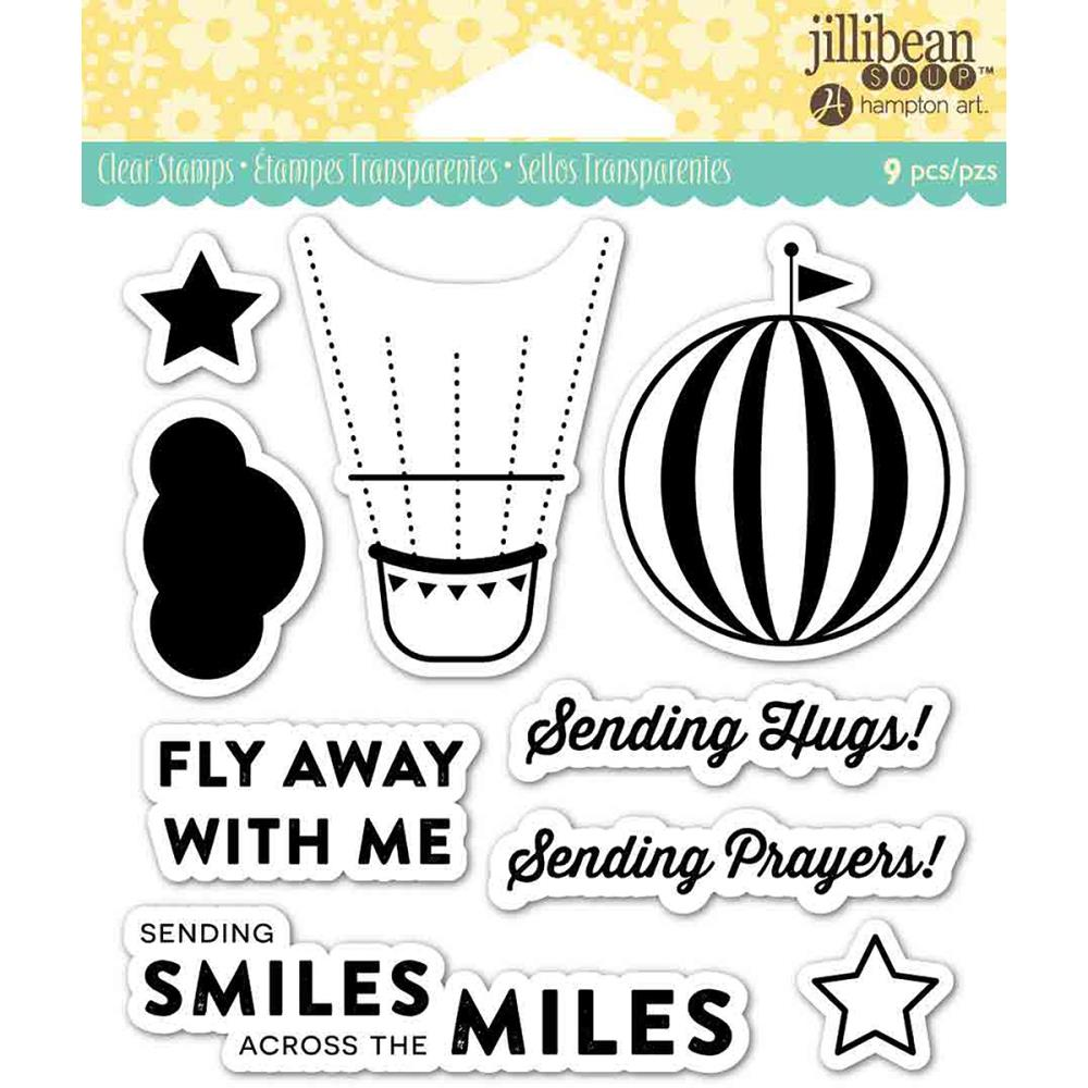 jillibean Soup Clear Stamps - Fly Away