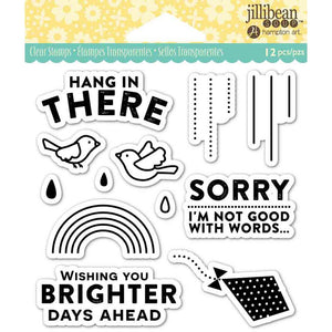jillibean Soup Clear Stamps - Hang in There