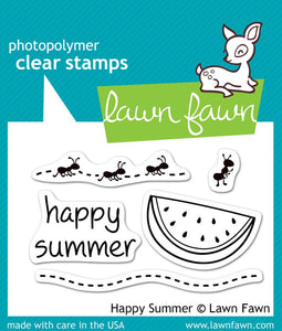 Lawn Fawn Happy Summer Stamps