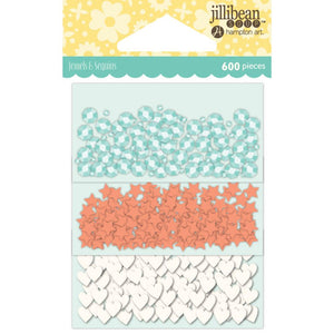 jillibean Soup Jewels & Sequins Pack 3 colors/pack, 600 pieces - MORE COLOR OPTIONS
