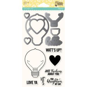 Stamp & Dies Set- Latte Love