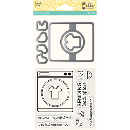 Stamp & Dies Set- Laundry
