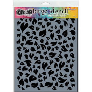 Ranger Dylusions 5x8 Stencils - Leaves Small