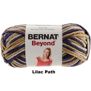 Bernat Beyond Varigated Yarn- MORE COLOR OPTIONS