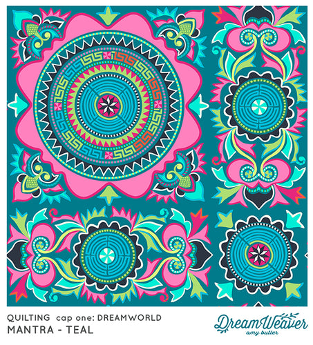 Mantra Teal by Amy Butler