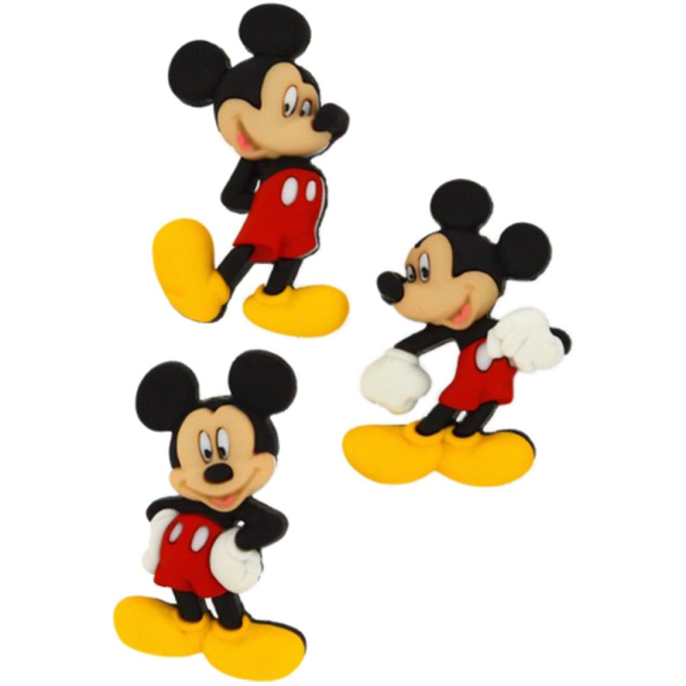 Dress it Up Disney Mickey Mouse Buttons