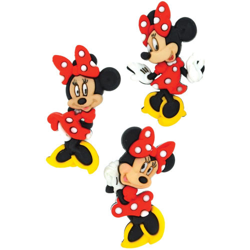 Dress It Up Minnie Mouse Buttons