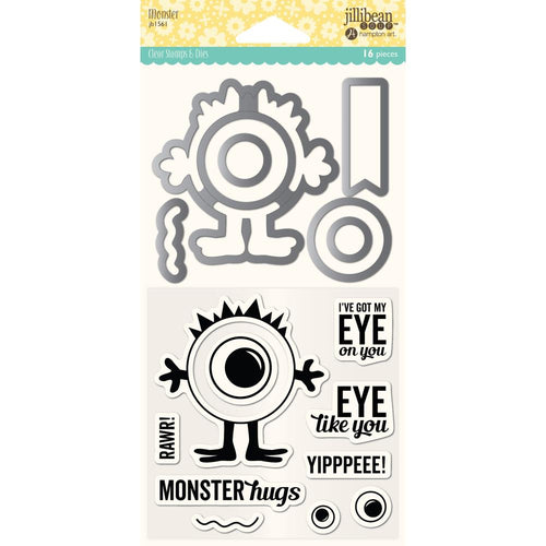 Stamp & Dies Set- Monster