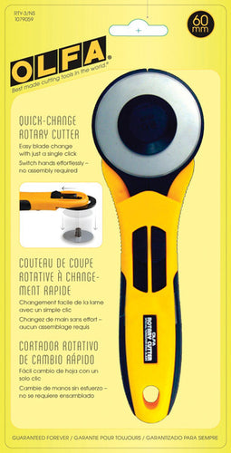 OLFA Quick-Change Rotary Cutter 60mm