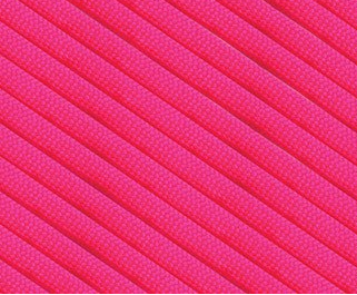 Parachute Cord 325 - Neon Pink