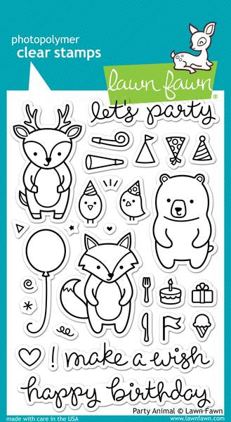 Lawn Fawn Party Animal Stamp