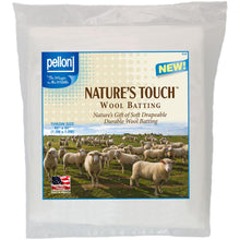 Pellon Nature's Touch Wool Batting - MORE SIZE OPTIONS