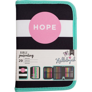 American Crafts Bible Journaling Pen Pouch- Hope