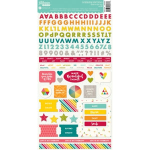 Shades of Color Cardstock Stickers