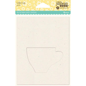Shaker Cards w/ Envelope-Coffee Cup