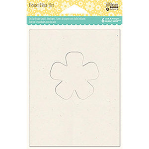 Shaker Cards w/ Envelopes - Flower