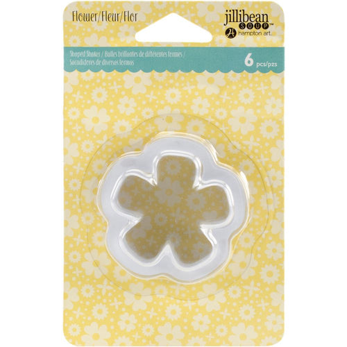Shaped Shaker Tag Insert- Flower