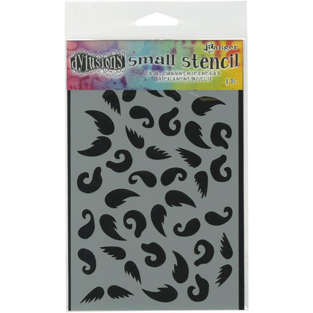 Ranger Dylusions 5x8 Stencils - Stash of 'Tache