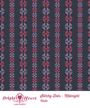 Stitchy Dots Midnight by Amy Butler
