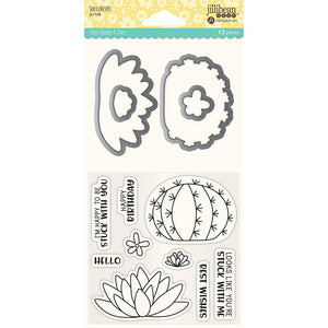 Stamp & Dies Set- Succulents