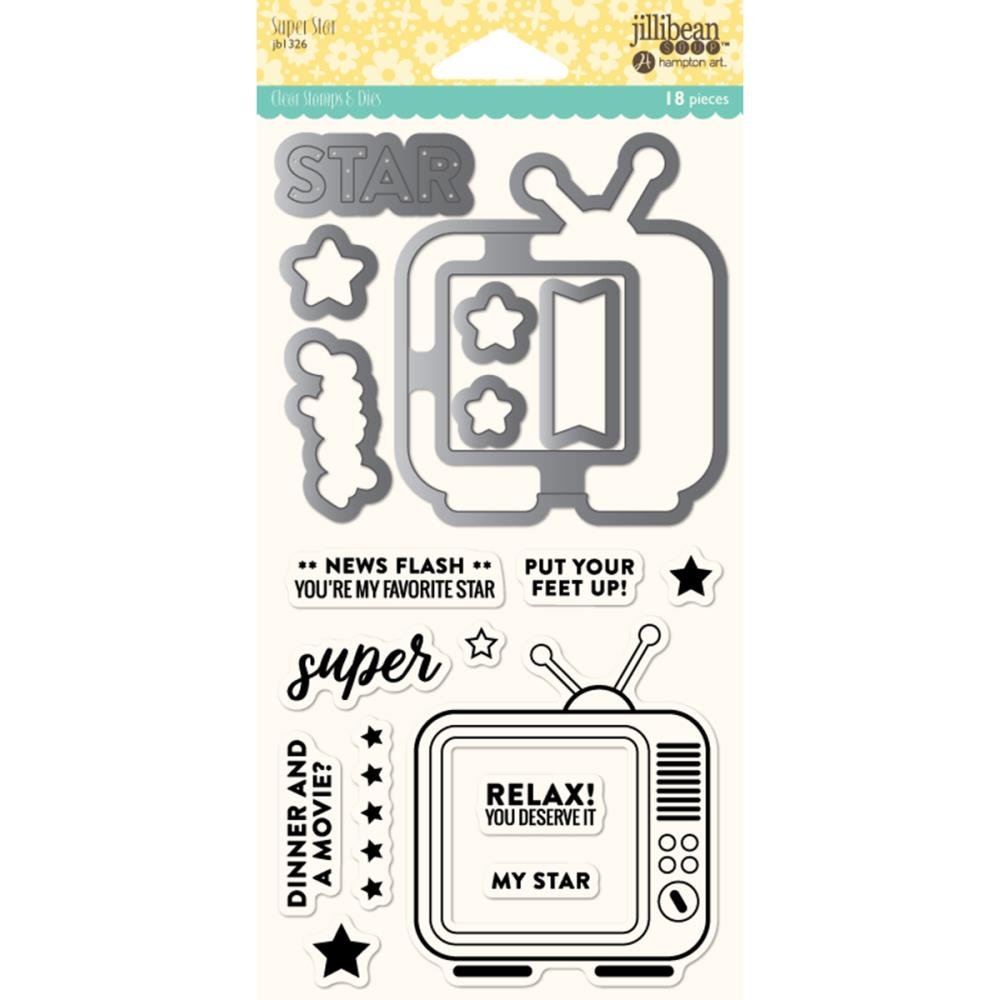 Stamp & Dies Set- Super Star