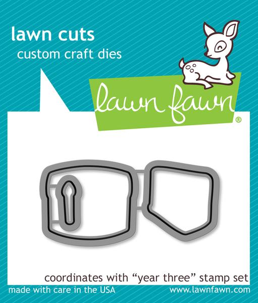 Lawn Cuts Year Three Die Cuts
