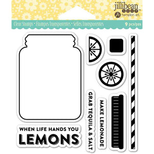 jillibean Soup Clear Stamps - Lemonade