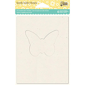 Shaker Cards w/ envelopes - Butterfly