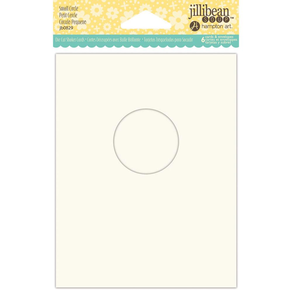 Shaker Cards w/ Envelopes - Small Circle