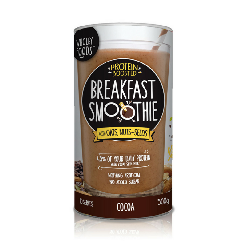 Wholey Foods Breakfast Smoothie Cocoa 500g