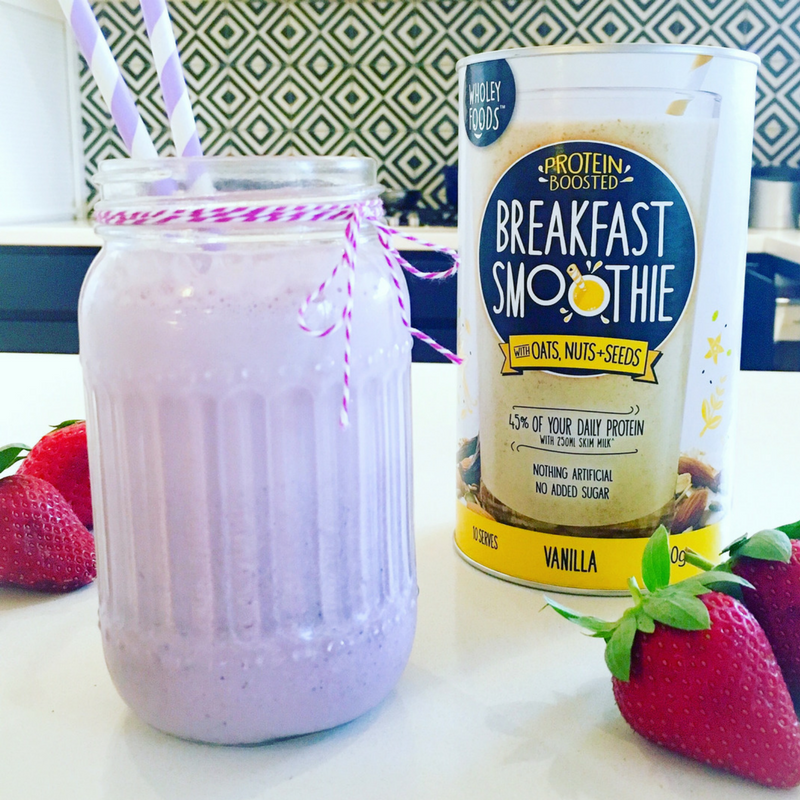 Wholey Foods Breakfast Smoothie Vanilla 500g - 3 Pack