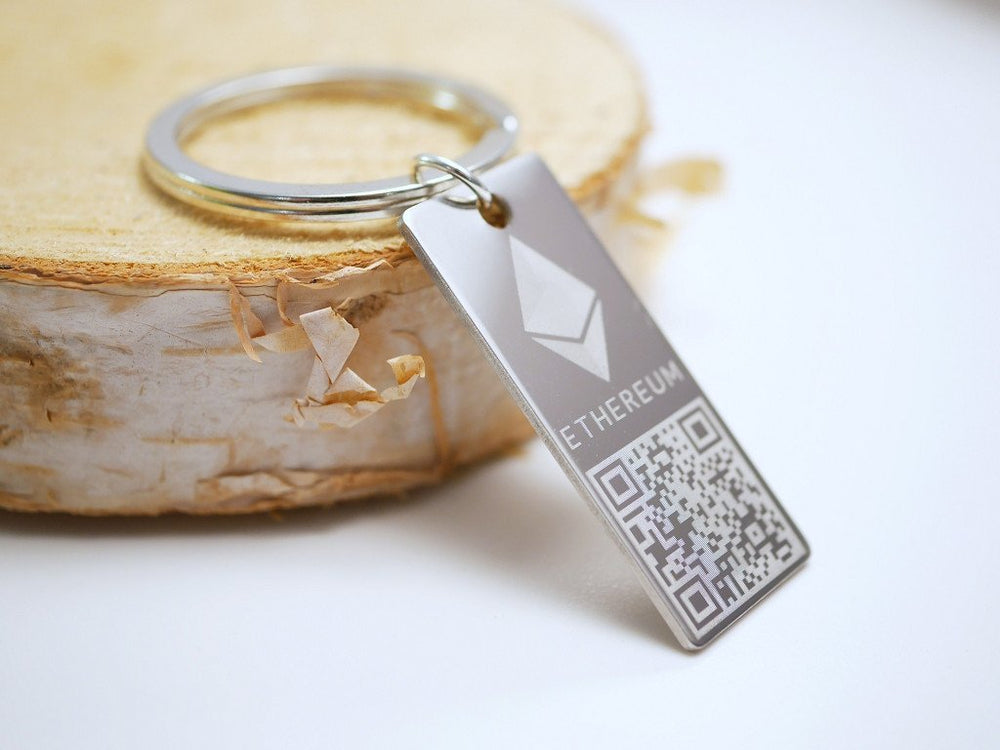 Personalized Ethereum Wallet Keychain