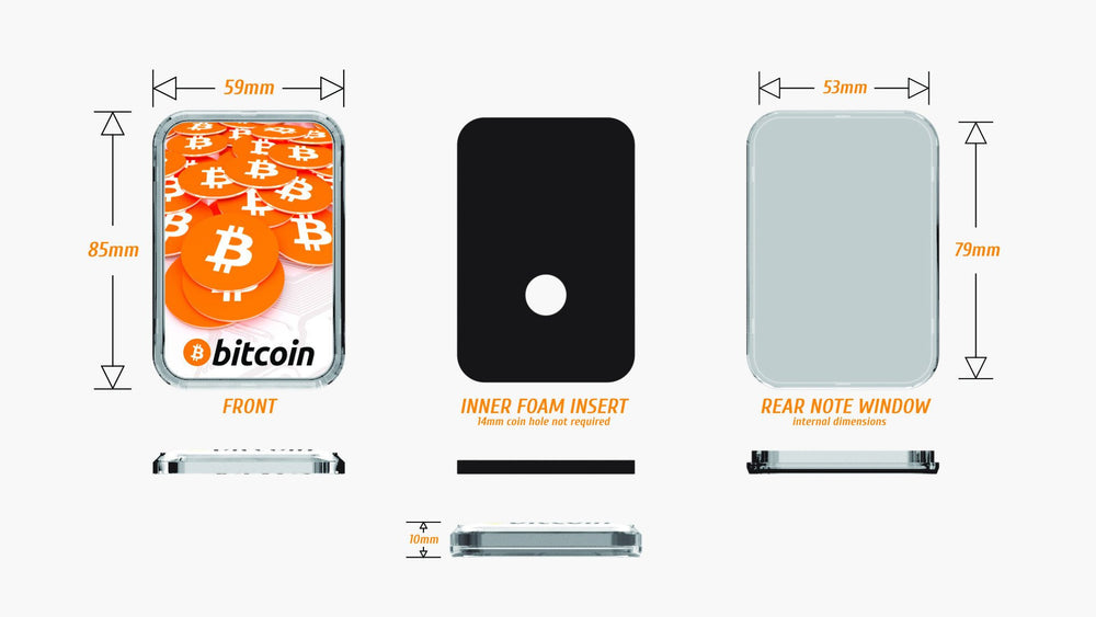 Bitcoin Cryptovessel - Pack of 5