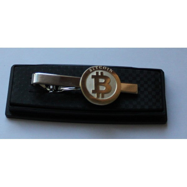 Bitcoin Tie Pin Model b