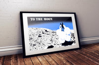 An Alpaca to the Moon Poster - Poster  Bitcoin Store - 2