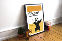 Bitcoin is a drug - Poster  Bitcoin Store - 2