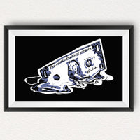 The Melted Dollar Poster - Poster  Bitcoin Store - 2