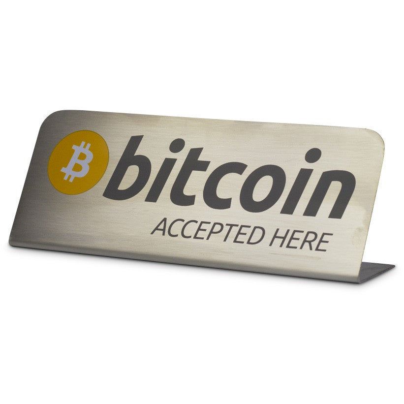 Bitcoin Plaque