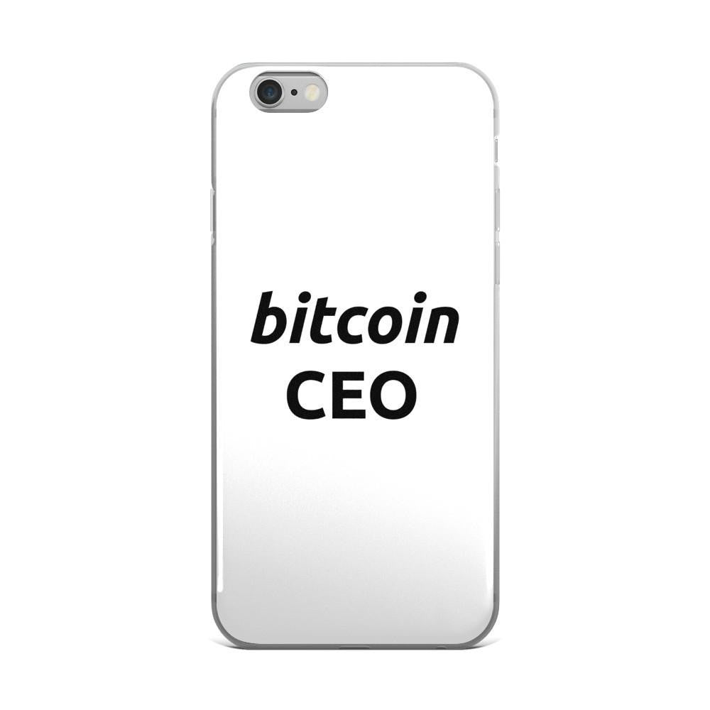 Bitcoin CEO iPhone/Samsung Case - Phone Case  Bitcoin Store