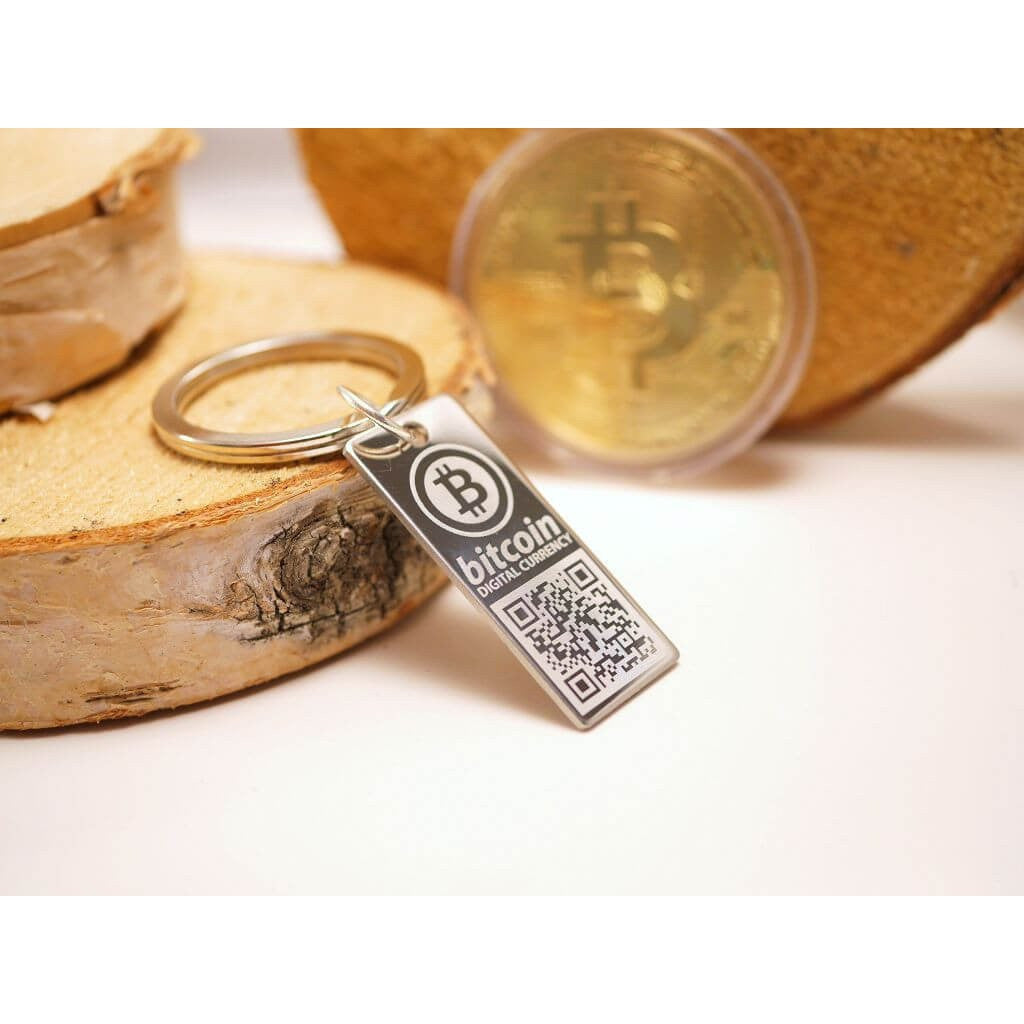 Personalized Bitcoin Wallet Keychain All Things Decentral