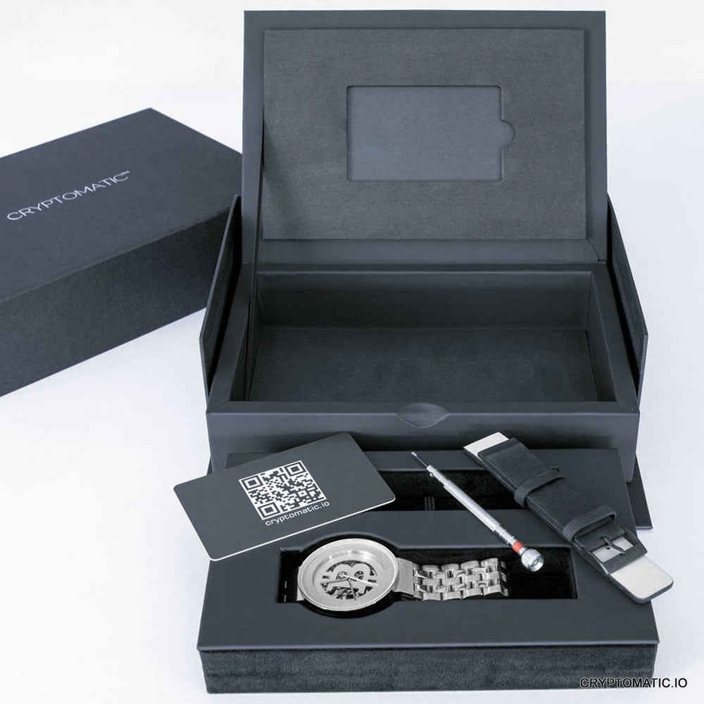 The Cryptomat Silver LIMITED EDITION