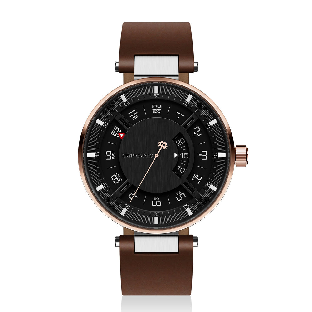 Hodler Cryptomatic Watch Rose Gold & Black (60 of 100) LIMITED EDITION