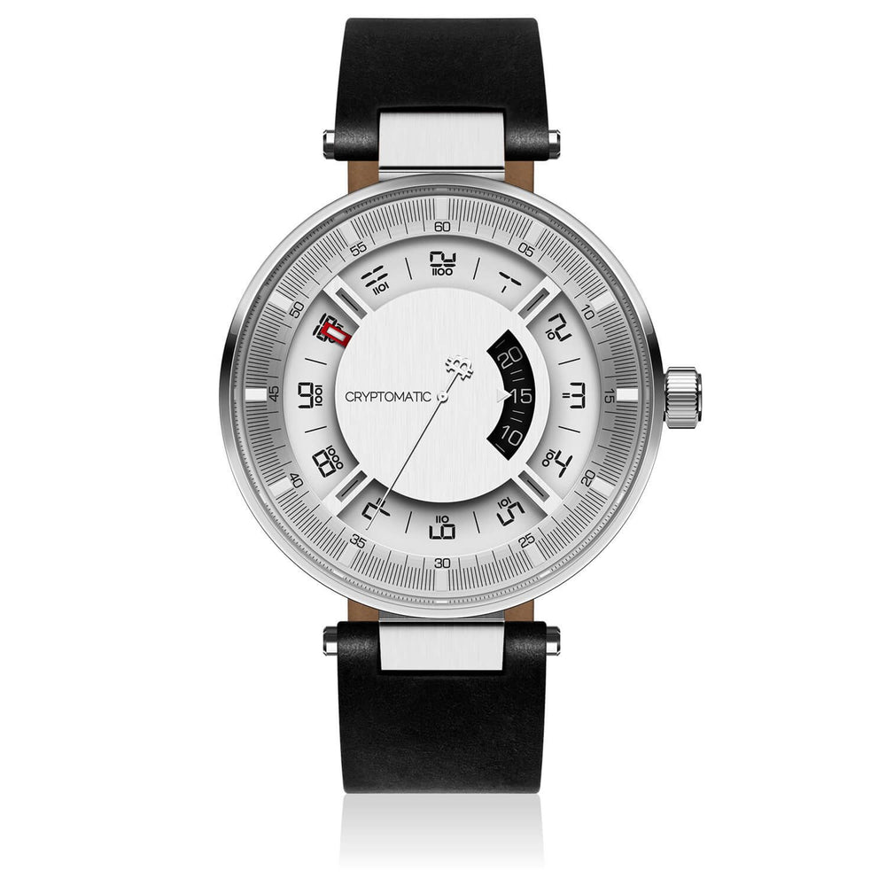 The Hodler Cryptomatic Watch Silver