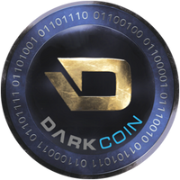 Darkcoin Poker Chip