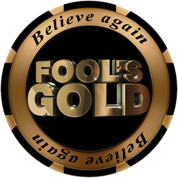 Fools Gold Poker Chip