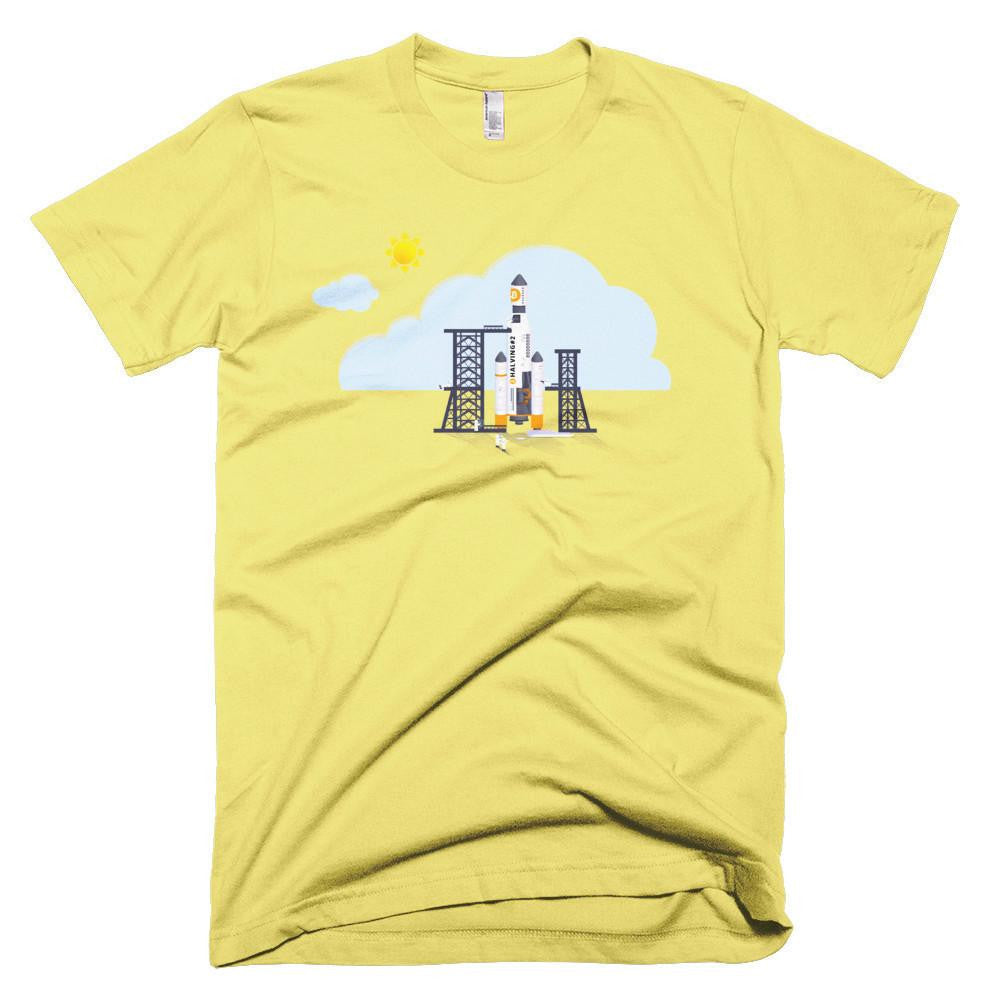 The Halvening 2016 - T-Shirts Small / Yellow Bitcoin Store - 3