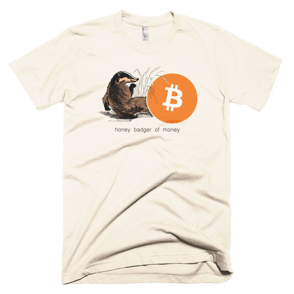 Honey Badger Of Money - T-Shirts  Bitcoin Store